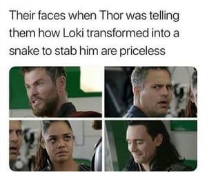 Hulk, thor, and bruce banner image