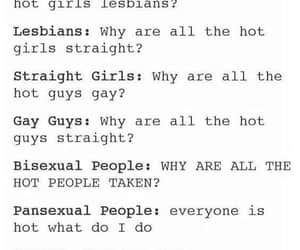 bisexual, pansexuality, and equality image