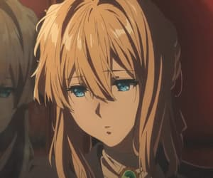 gif, violet evergarden, and anime image