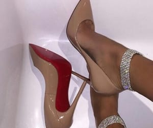 diamonds, Nude, and shoes image