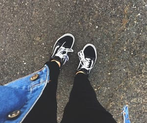 aesthetic, black, and blue image