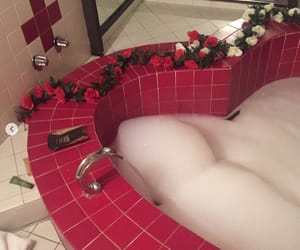 bath, french, and heart image