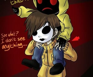 masky and hoodie, hoodie and masky, and creepypasta hoodie image