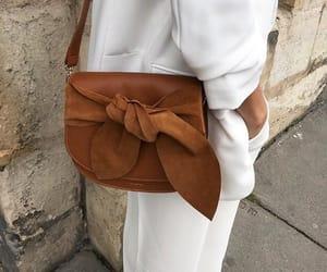 bag, style, and brown image