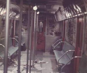 train, alone, and sad image