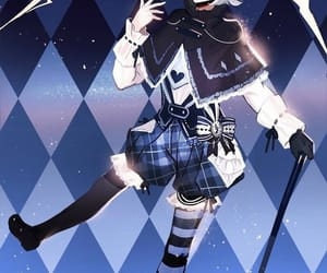 blue, checkered, and dark blue image