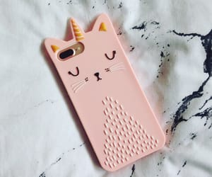 iphone, iphone case, and pink girly kawaii cute image