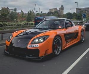 car, engine, and Mazda image