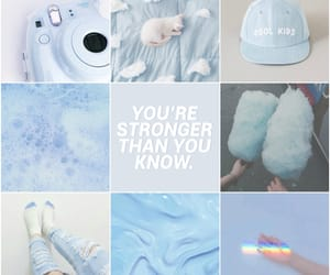 aesthetic, blue, and light blue image