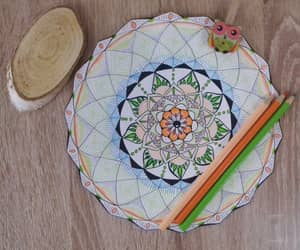 handdrawn, mandalas, and mandala image