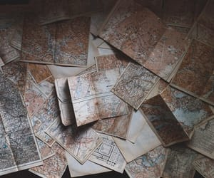 adventure, maps, and travel image
