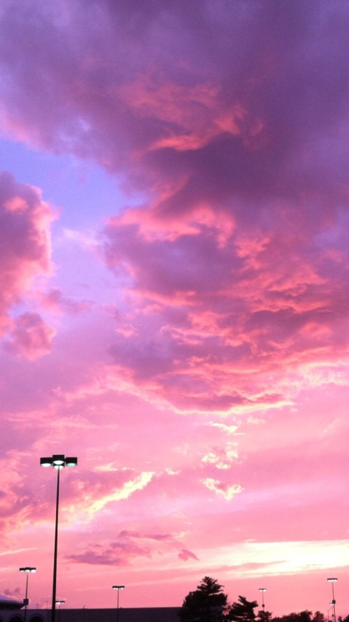 Pink Candy Sky Discovered By Sarah On We Heart It
