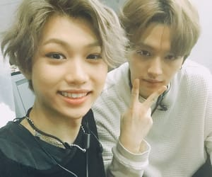 kpop, felix, and stray kids image