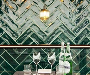 decor, green, and interior image