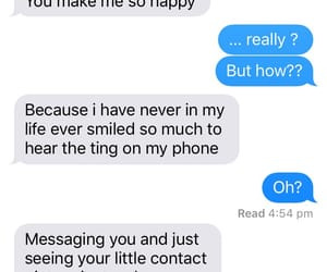 him, iphone, and messages image