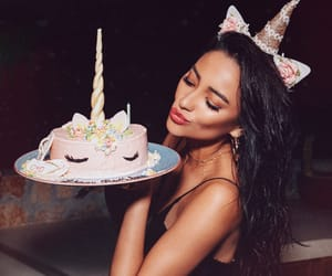 shay mitchell and unicorn image
