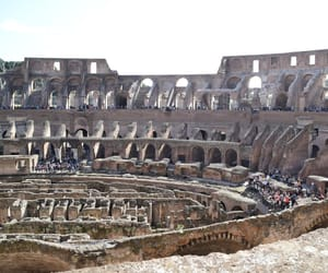 colosseum, italy, and travel image