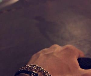 accessories, black, and bracelet image
