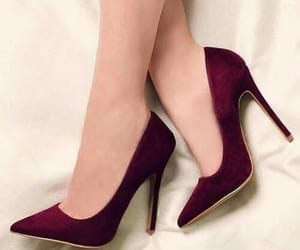 chic, high heels, and shoes image