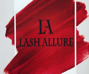 beauty, red, and lashallure image