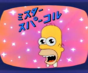 homer, the simpsons, and japanese image