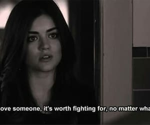 quotes, pretty little liars, and love image