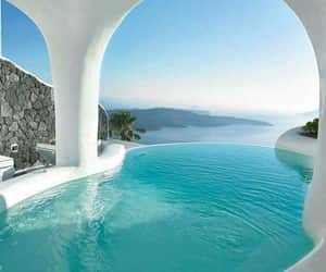 beautiful, pool, and travel image