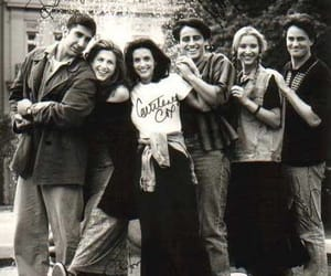cast, tv series, and friends image
