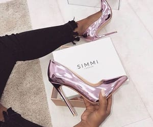 shoes, heels, and girly image