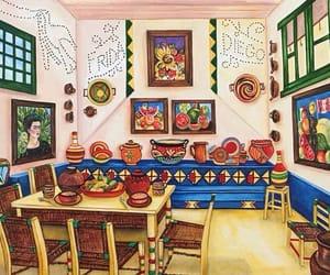 Frida, illustration, and kahlo image