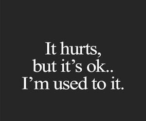 quotes, sad, and hurt image