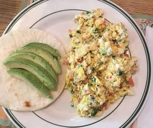 avocado, breakfast, and dinner image