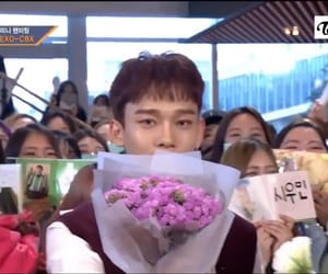 Chen, exo, and flower image