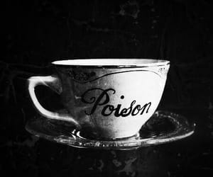 poison, tea, and cup image