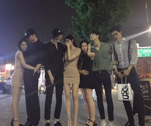 squad, ulzzang, and asian image
