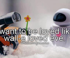 eve, love, and wall-e image