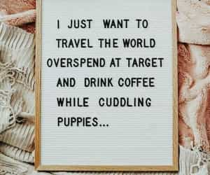coffee, puppies, and target image