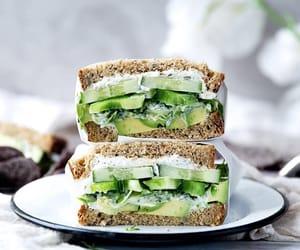 food, sandwich, and health image