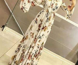 dress, modest, and hijab fashion image