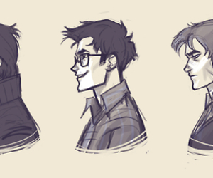 boys, harry potter, and padfoot image