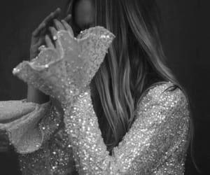 girl, fashion, and glitter image