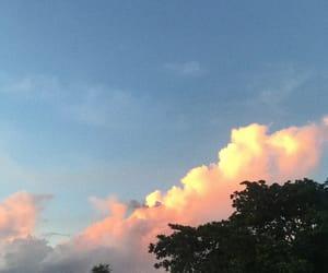 sunset and reunion island image