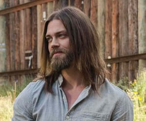 jesus, tom payne, and the walking dead image