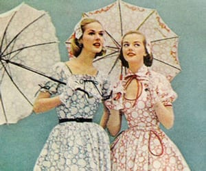 50's, fashion, and vintage image