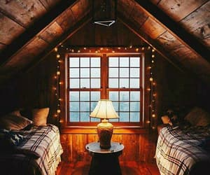 bedroom, home, and autumn image
