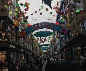 christmas, london, and england image