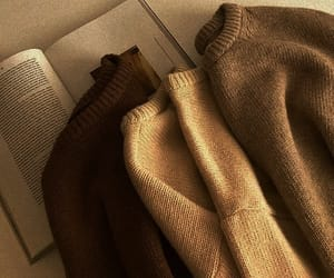 sweater, book, and aesthetic image