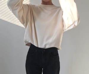 fashion, clothing, and minimalism image