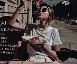 food, fashion, and girl image