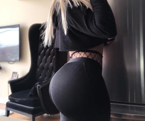 black, curves, and big booty image